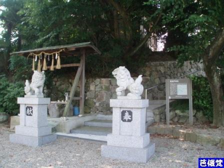 2008年7月13日飛鳥戸神社
